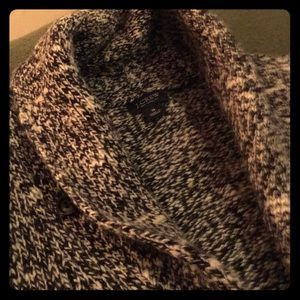 J Crew Marled Wool Shawl Collar Cardigan